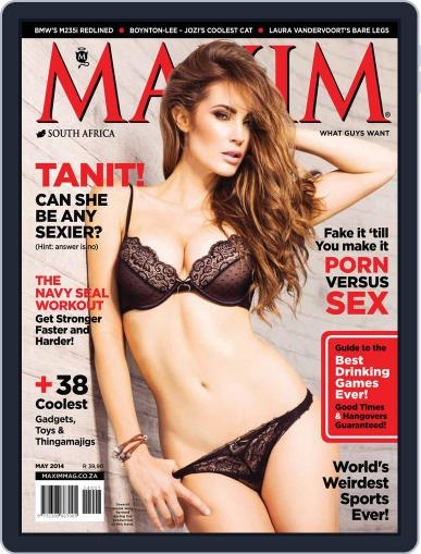 Maxim South Africa (Digital) April 21st, 2014 Issue Cover