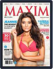 Maxim South Africa (Digital) Subscription January 10th, 2014 Issue