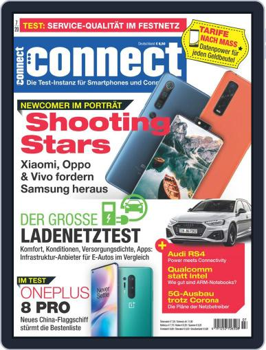 Connect July 1st, 2020 Digital Back Issue Cover