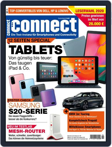 Connect April 1st, 2020 Digital Back Issue Cover