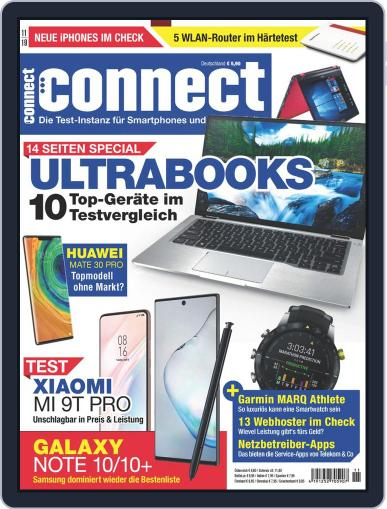 Connect November 1st, 2019 Digital Back Issue Cover