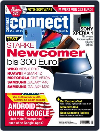 Connect August 1st, 2019 Digital Back Issue Cover