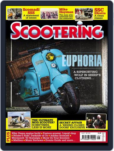 Scootering (Digital) May 1st, 2020 Issue Cover