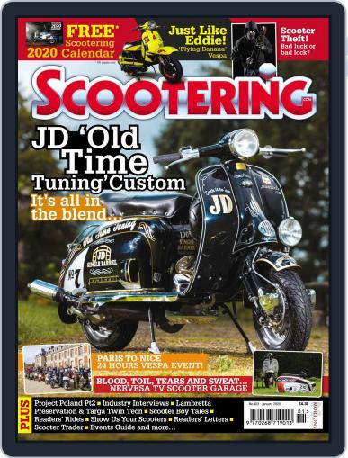 Scootering (Digital) January 1st, 2020 Issue Cover