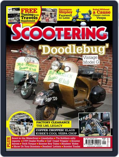 Scootering (Digital) September 1st, 2019 Issue Cover
