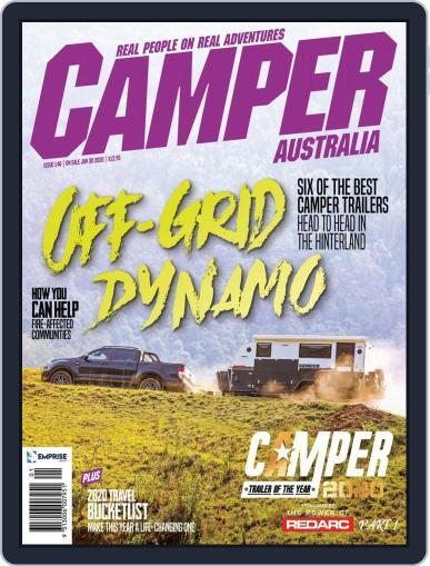 Camper Trailer Australia (Digital) February 1st, 2020 Issue Cover
