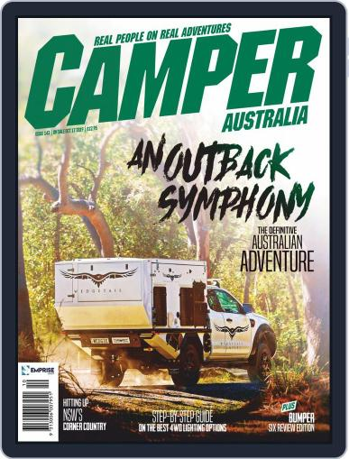 Camper Trailer Australia (Digital) October 1st, 2019 Issue Cover