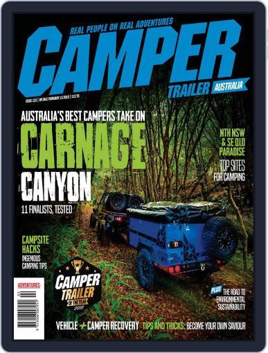 Camper Trailer Australia (Digital) February 1st, 2018 Issue Cover