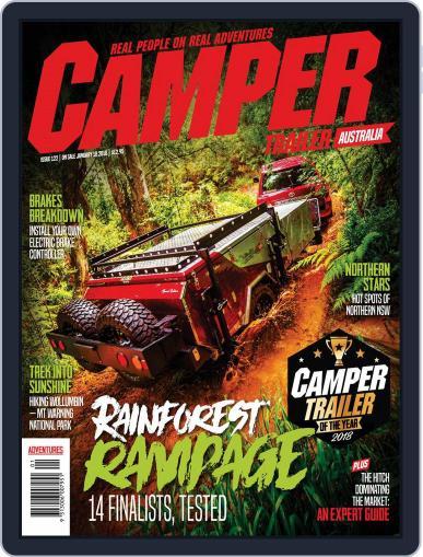 Camper Trailer Australia (Digital) January 1st, 2018 Issue Cover