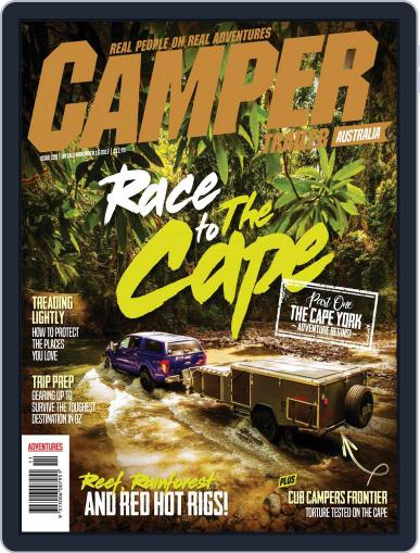 Camper Trailer Australia (Digital) November 5th, 2017 Issue Cover