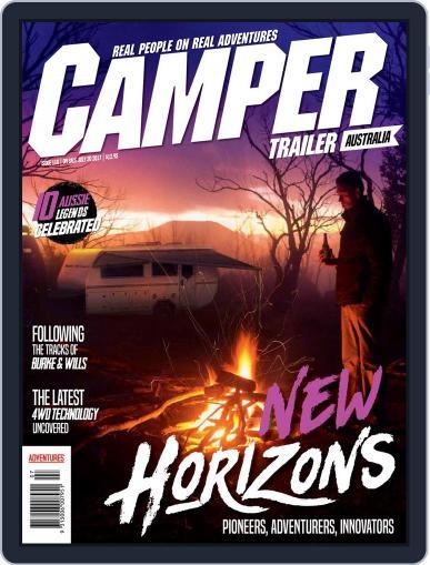 Camper Trailer Australia (Digital) August 1st, 2017 Issue Cover