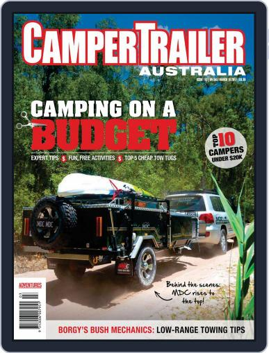 Camper Trailer Australia (Digital) May 1st, 2017 Issue Cover