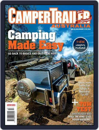 Camper Trailer Australia (Digital) February 1st, 2017 Issue Cover