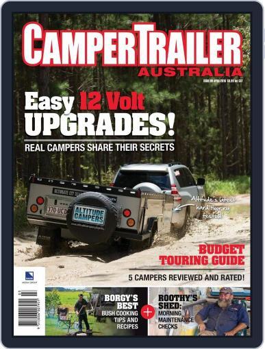 Camper Trailer Australia (Digital) March 9th, 2016 Issue Cover