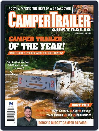 Camper Trailer Australia (Digital) February 10th, 2016 Issue Cover