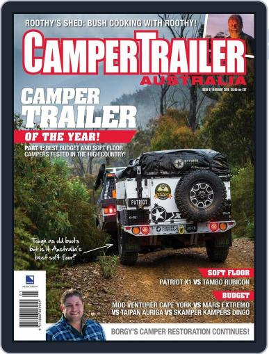 Camper Trailer Australia (Digital) January 13th, 2016 Issue Cover