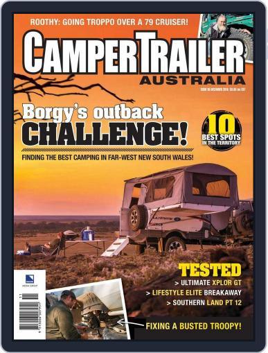 Camper Trailer Australia (Digital) November 19th, 2015 Issue Cover