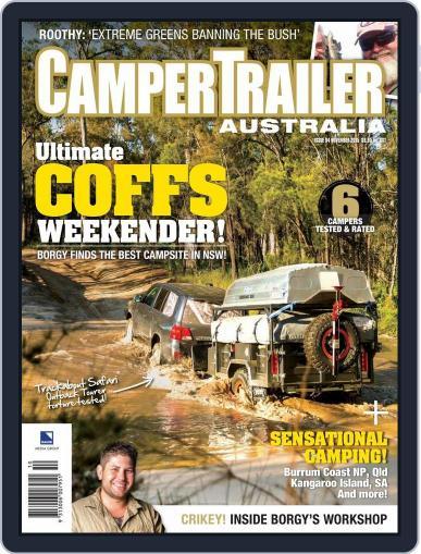 Camper Trailer Australia (Digital) October 15th, 2015 Issue Cover