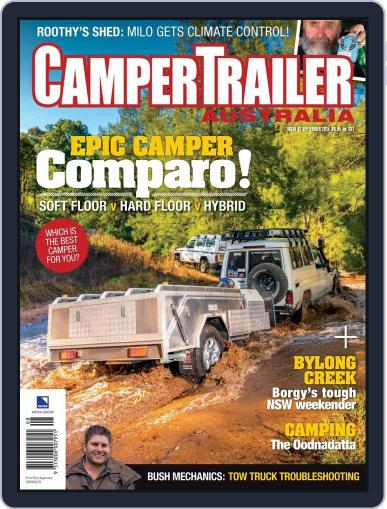 Camper Trailer Australia (Digital) August 19th, 2015 Issue Cover