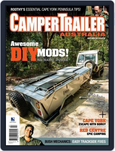 Camper Trailer Australia (Digital) July 23rd, 2015 Issue Cover