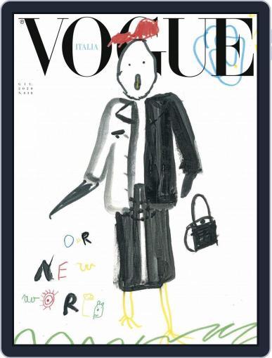 Vogue Italia (Digital) June 1st, 2020 Issue Cover