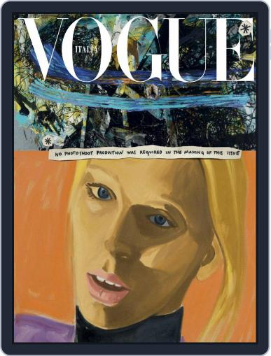 Vogue Italia (Digital) January 1st, 2020 Issue Cover