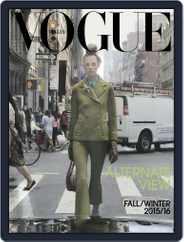 Vogue Italia (Digital) Subscription September 1st, 2015 Issue