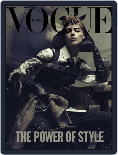 Vogue Italia (Digital) February 20th, 2015 Issue Cover