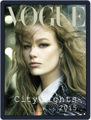 Vogue Italia (Digital) January 13th, 2015 Issue Cover
