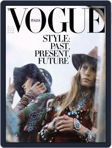 Vogue Italia (Digital) December 9th, 2014 Issue Cover