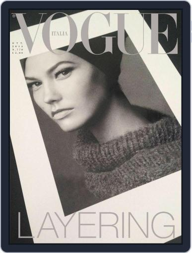 Vogue Italia (Digital) October 7th, 2014 Issue Cover