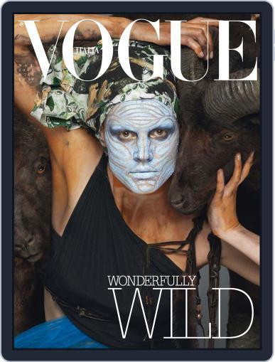 Vogue Italia (Digital) March 7th, 2014 Issue Cover