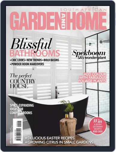 SA Garden and Home (Digital) April 1st, 2020 Issue Cover
