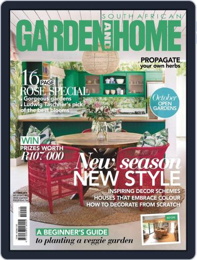 SA Garden and Home (Digital) October 1st, 2019 Issue Cover