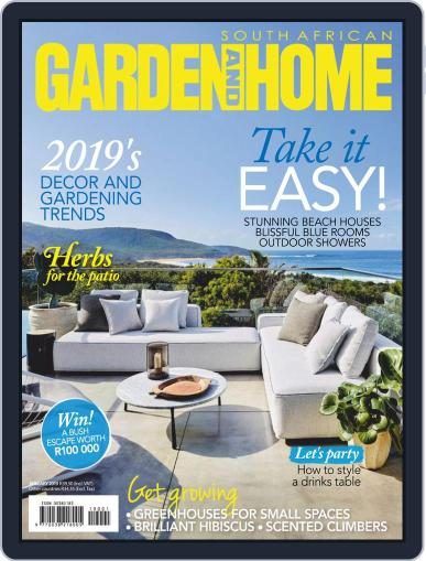 SA Garden and Home (Digital) January 1st, 2019 Issue Cover