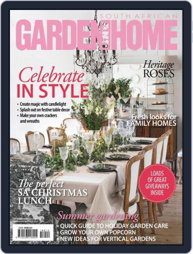 SA Garden and Home (Digital) December 1st, 2018 Issue Cover