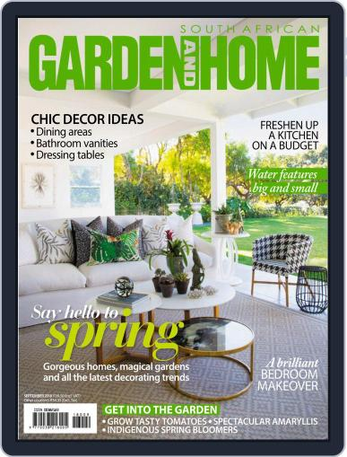 SA Garden and Home (Digital) September 1st, 2018 Issue Cover