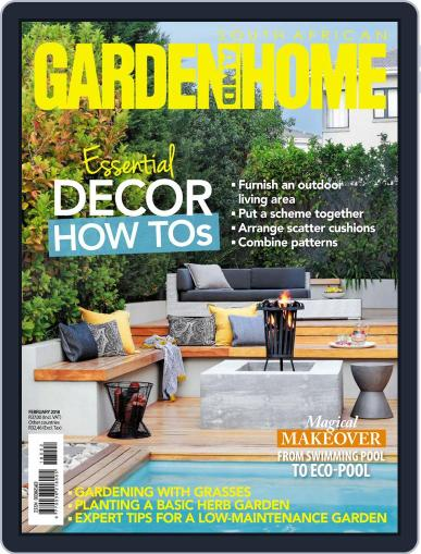 SA Garden and Home (Digital) February 1st, 2018 Issue Cover