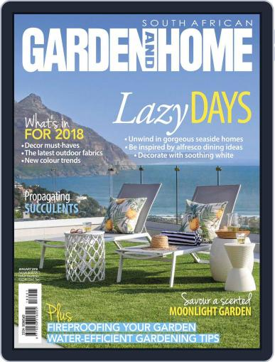 SA Garden and Home (Digital) January 1st, 2018 Issue Cover