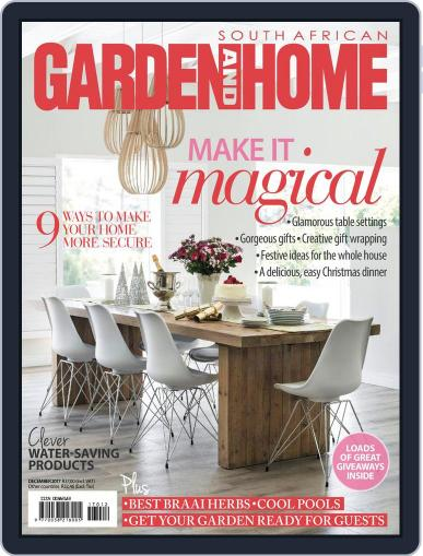 SA Garden and Home (Digital) December 1st, 2017 Issue Cover