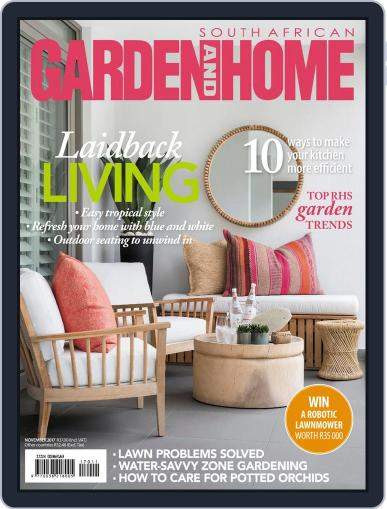 SA Garden and Home (Digital) November 1st, 2017 Issue Cover