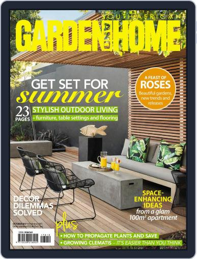 SA Garden and Home (Digital) October 1st, 2017 Issue Cover