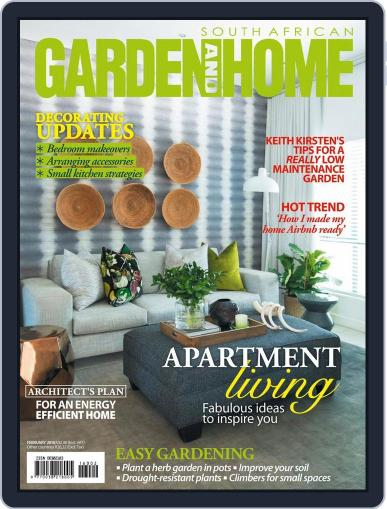 SA Garden and Home (Digital) January 18th, 2016 Issue Cover