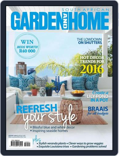 SA Garden and Home (Digital) December 14th, 2015 Issue Cover
