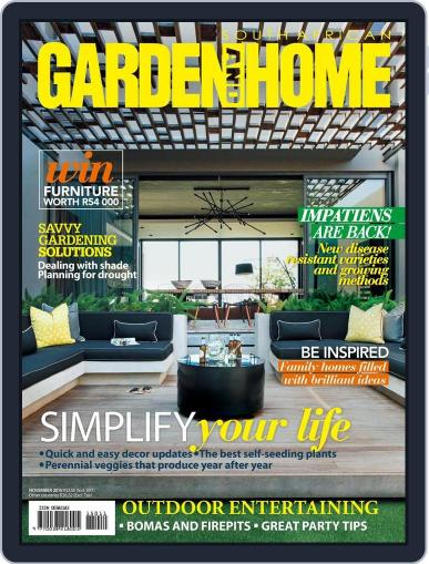 SA Garden and Home (Digital) October 13th, 2015 Issue Cover
