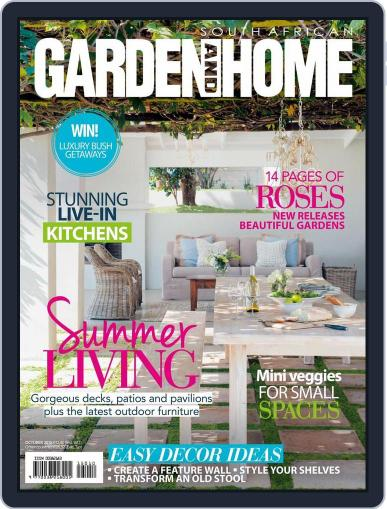 SA Garden and Home (Digital) September 21st, 2015 Issue Cover