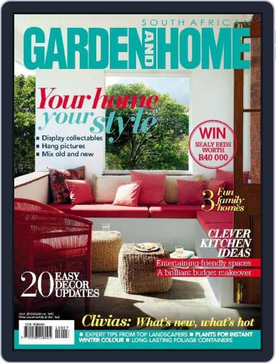 SA Garden and Home (Digital) June 20th, 2015 Issue Cover