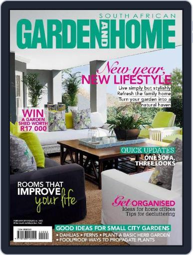 SA Garden and Home (Digital) January 31st, 2015 Issue Cover