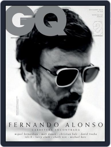 Gq España November 1st, 2019 Digital Back Issue Cover