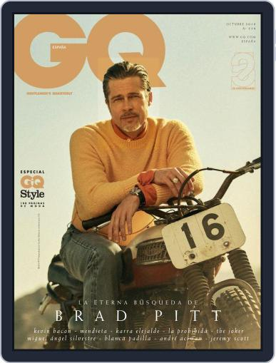 Gq España October 1st, 2019 Digital Back Issue Cover